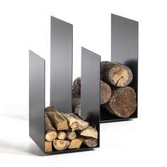 Porte-bûches Télio AM.PM : prix, avis & notation, livraison. Esprit minimaliste pour ce porte-bûches en métal époxy noir.Taille 1 : L.35 x P.35 x H.60 cm.Taille 2 : L.50 x P.50 x H.72 cm.