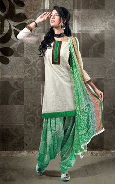 Embroidered Patiala Salwar Suit