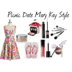 """""""Picnic Date"""" by marykaybyanne on Polyvore http://www.marykay.com/lisabarber68 Call or text 386-303-2400"""