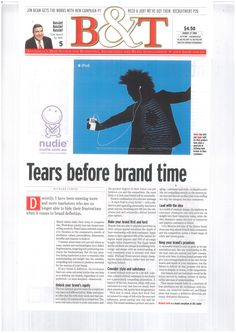 B+T - Tears before brand time