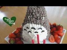 How to make Easy Totoro Cake