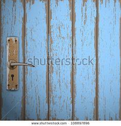 Image vectorielle de stock de Old Wooden Door Vector Background 108897896 Hobbit Hole, The Hobbit, Wood Background, Vector Background, Building A Door, Old Wooden Doors, Door Handles, Social Media, Nice Things