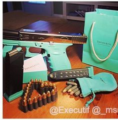 Tiffany Glock. Can't believe this actually exists. Christmas 2014 please!!