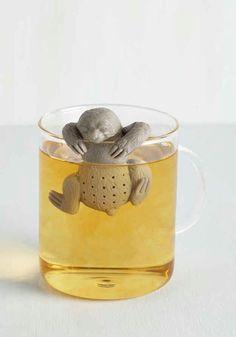 Sloth tea seeper