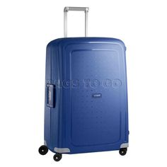 Samsonite S'Cure 75cm Large Spinner Suitcase - Blue