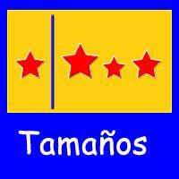 Tamaños - Figuras y Formas - Juegos - Juegos educativos en español, JuegosArcoiris