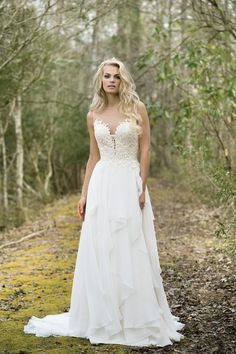 Lillian West Wedding Dresses - Search our photo gallery for pictures of wedding dresses by Lillian West. Find the perfect dress with recent Lillian West photos. Boho Chic Wedding Dress, Vintage Inspired Wedding Dresses, Wedding Dress Trends, Boho Dress, Vintage Dresses, Wedding Gowns, Trendy Wedding, Lillian West, Spring 2017 Wedding Dresses