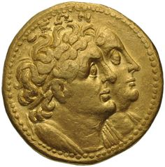Ptolemy II and Arsinoe II #Greek and #Roman coins • The Museum