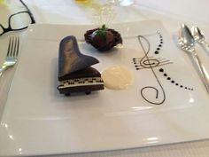 Piano de chocolate praline