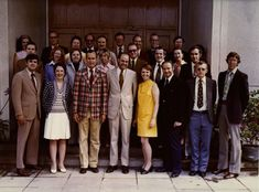 Pictured above is a shot of 25 people, only one of whom is wearing madras; he is also the only one to ever serve as president of the United States.
