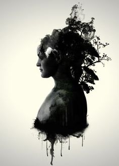 9430b685467 Mother Earth by Nicklas Gustafsson  motherearth  nature  forest  woman  Earth Poster