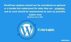 Google have started to send warnings to site owners who don't update their WordPress sites - what might this mean for your WordPress site? Read on!