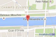 Pont des Invalides: carte