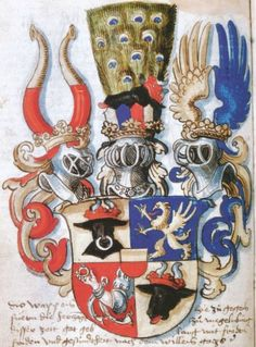 Mecklenburg, Germany coat of arms. Mecklenburg, I believe, is where my ancestors lived before coming to America.