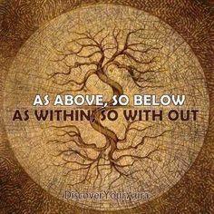An old Druidic saying.