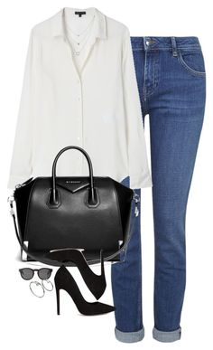 """""""Untitled #1154"""" by lovetaytay ❤ liked on Polyvore featuring Topshop, Theory, Givenchy, ASOS, Monki and Athra Luxe"""