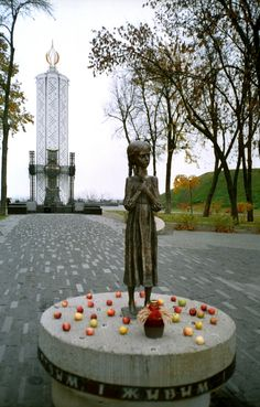 Memorial to the Holodomor Victims (Kiev, Ukraine)