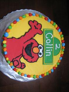 elmo birthday | Elmo birthday cake - Kaylie Cakes
