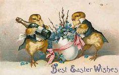 Vintage Easter Cards~ Best Easter Wishes