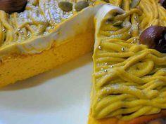 Kabocha Montblanc cheesecake かぼちゃの濃厚ベークドチーズケーキ!