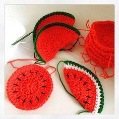 meloenen haken - crochet melons
