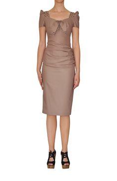 Taşlı Elbise www.suanyemoda.com