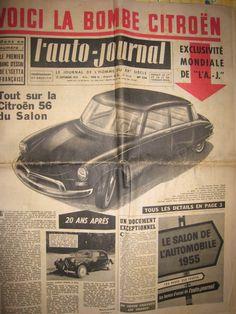 Retour sur... La Citroën DS - Blog Automobile