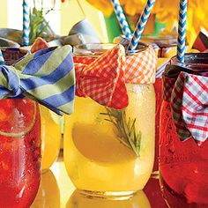 Apple, Lemon, and Gin Shandy - Game-Day Drinks - Southern Living