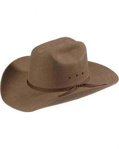 Twister Kid s Youth Wool Felt Brown Cowboy Hat  T7213002  2f943ce98536