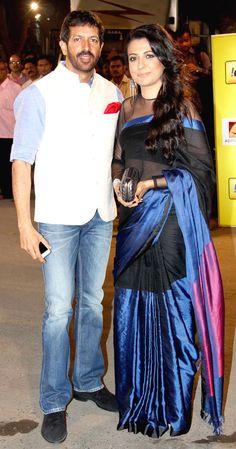 Kabir Khan and wife Mini Mathur : Salman, Big B and Ranbir at the Filmfare Awards