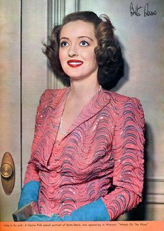 Bette Davis by Vintage-Stars, via Flickr