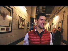 Novak Djokovic Victory Lap In London - Part 1