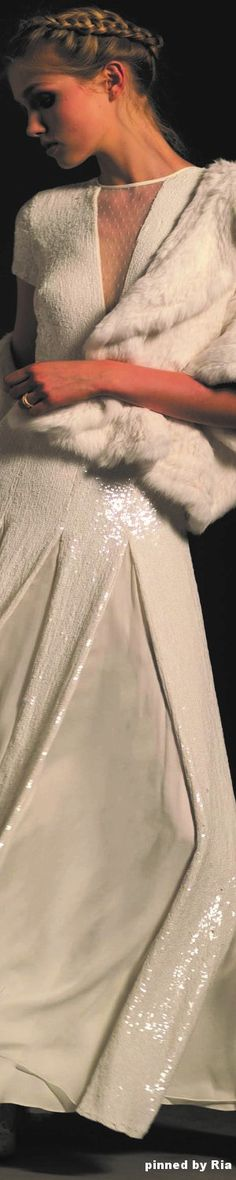 Temperley London Bridal Fall 2017 l Ria Denim Wedding, Glam And Glitter, White Chic, Gowns Of Elegance, Groom Attire, Prom Dresses, Wedding Dresses, Special Occasion Dresses, Bridal Gowns