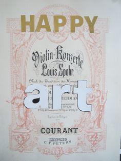 """Collage """"the happy art courant"""" Eva Luijkx"""