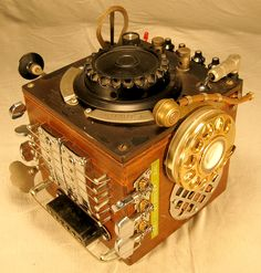 Steampunk Enigma Machines Project Details
