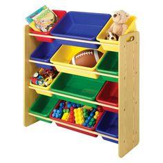 Whitmor 12-Bin Toy Organizer - Natural : Target