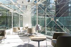 Espace lounge Omni Materia Kinnarps
