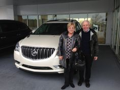 Doctor Bardack and his wife Diane's 2014 Buick Enclave