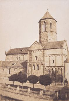 In photos: Remembering French photographer Henri Le Secq ~ Photography News Champagne, Alsace, French Photographers, Spain And Portugal, Romanesque, 12th Century, Strasbourg, North Africa, African Art