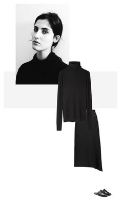 """/"" by darkwood ❤ liked on Polyvore featuring Jil Sander, Helmut Lang, CÉLINE and The Row"