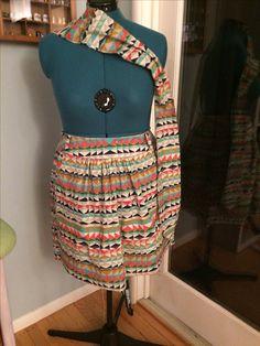 Skirt in progress