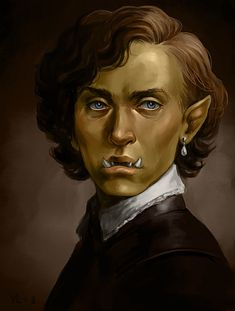 """spader7: """" I'll have you know i'm known for my historically accurate portraits. Here, for example, is one of a renaissance orc boy. """""""