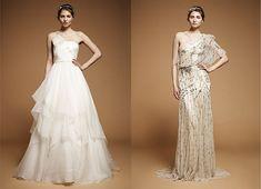 Jenny Packham Fall 2012 wedding dresses