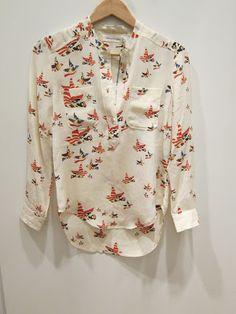 Etoilé Isabel Marant Mansfield blouse. Love.