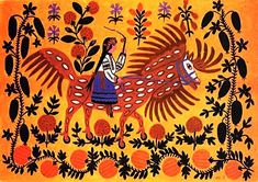 UNESCO announced that 2009 is the Year of Ukrainian Artist Maria Prymachenko.
