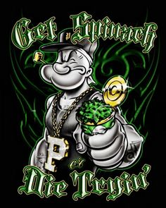 Popeye Tattoo Oldschool
