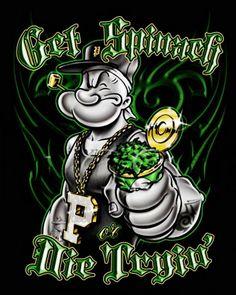 Gangster Cartoon Photos Psd Detail Popeye Gangsta Official