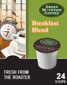 Love my Keurig -- Breakfast Blend is a great way to start the day!