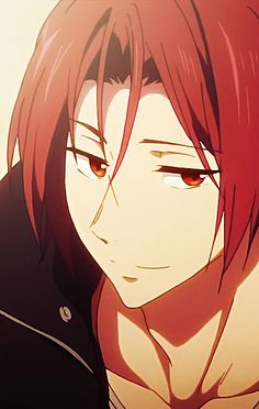 """"""" Rin Matsuoka should be illegal """" <<< for being too hot"""