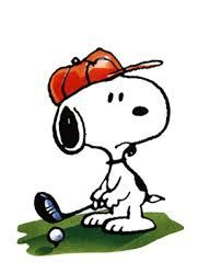 snoopy golfer - Google Search